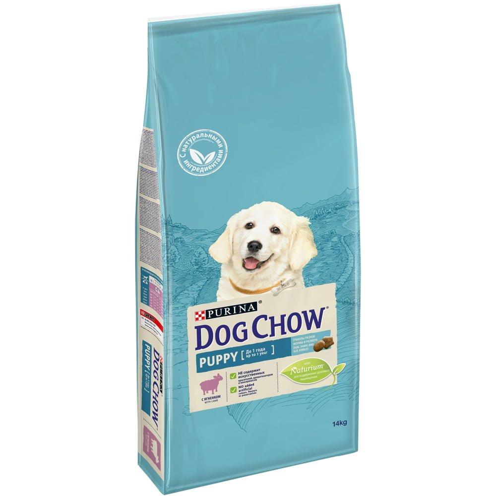 Dog Chow Puppy с ягненком, 14кг