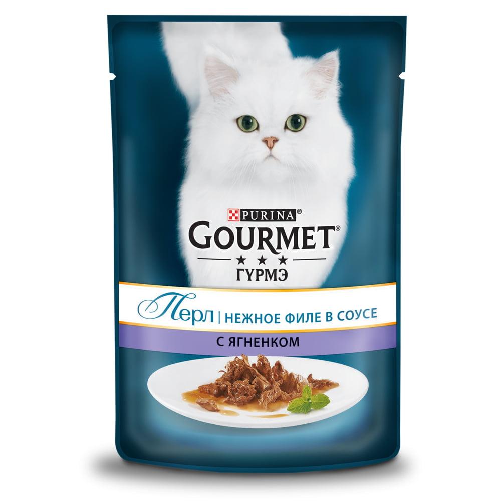 Gourmet Perle с ягненком 85г