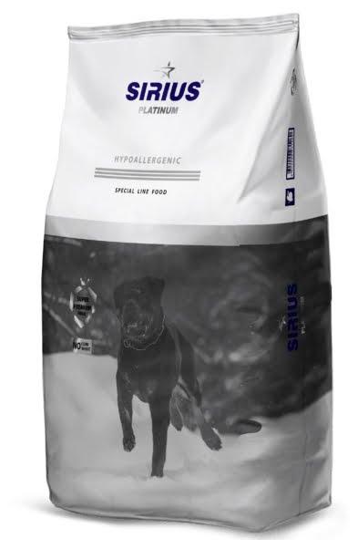 Корм для взрослых собак Утка с овощами «SIRIUS» 3 кг