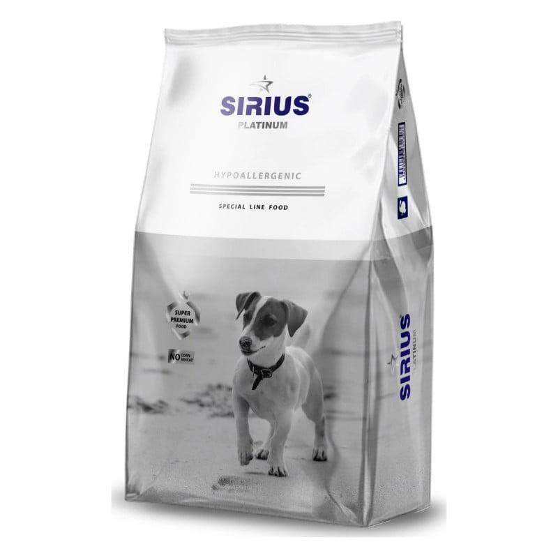 """Корм для взрослых собак малых пород Индейка с овощами """"SIRIUS"""" 1,2 кг"""