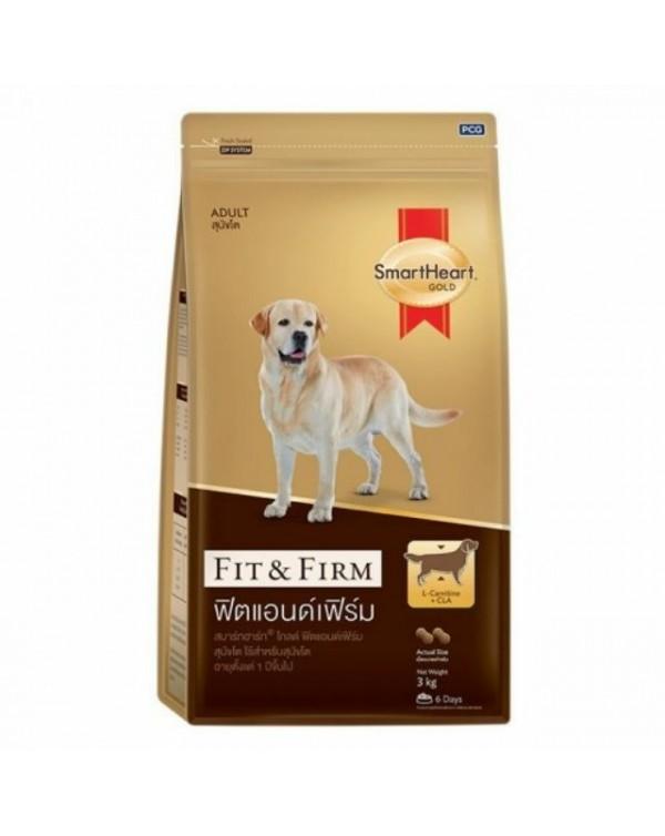 SMARTHEART GOLD корм для собак, стройный и стойкий, 3 кг