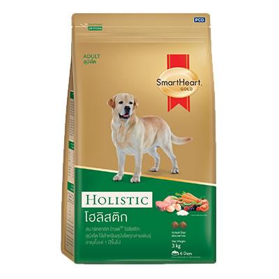 SMARTHEART GOLD корм для собак холистик 3 кг