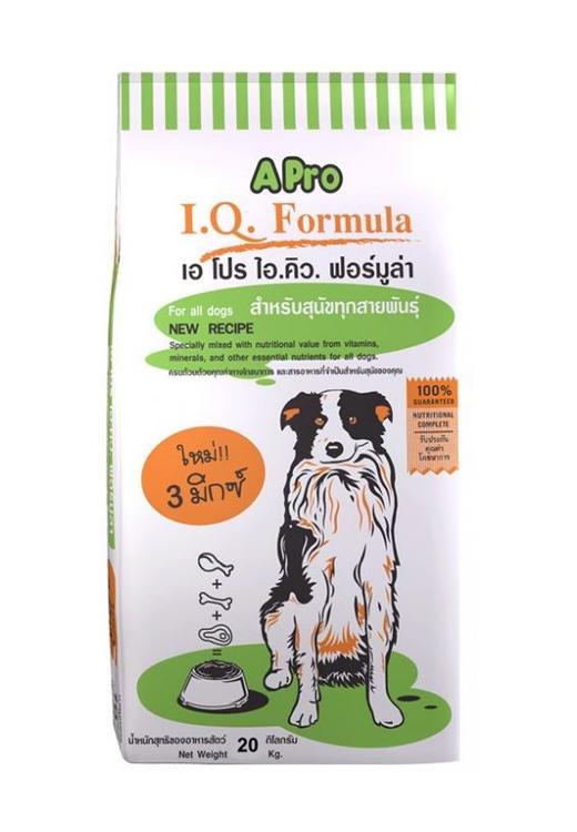APRO I.Q. Formula корм для собак, со вкусом ягненка, 20кг